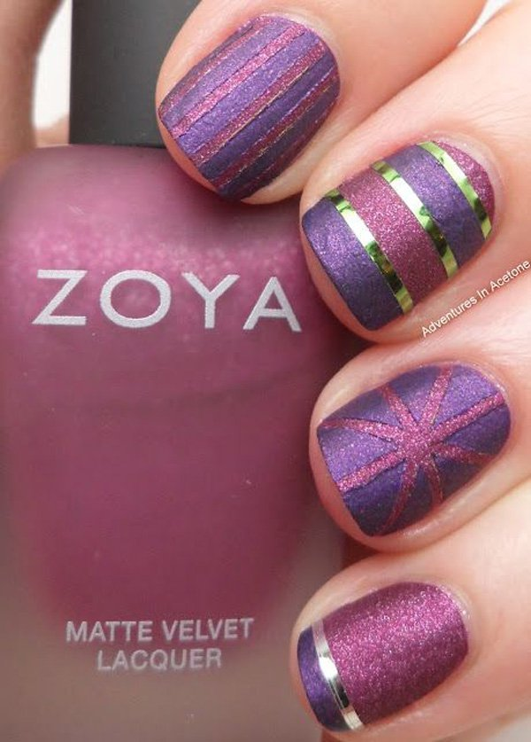 Purple-Metallic-Nail-Design-2