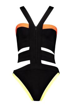 Yolanda Boutique Bandage Neon Cut Out $40.00. boohoo.com. Photo via Boohoo.com