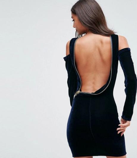 Asos Zipper Dress