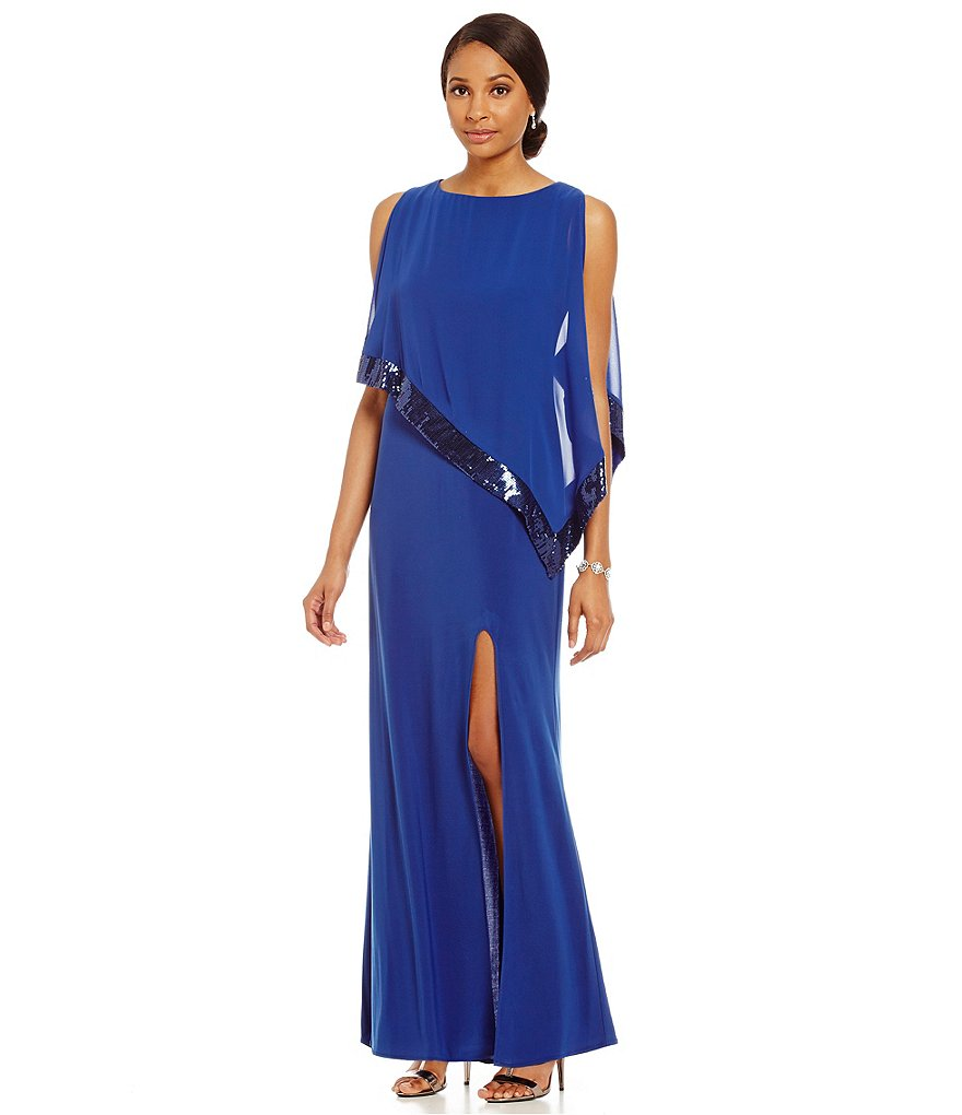 JCPenney Sequin Trim Dress