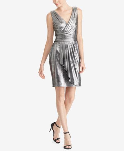 Macys Metallic Dress
